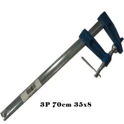 TORNIQUETE Nº 3P 70 CM 35X8 M. METALICO