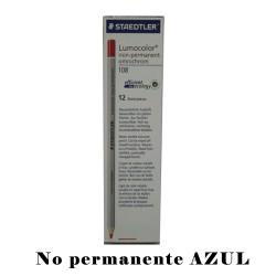 LAPIZ STD MARCADOR NON PERMANENT AZUL108-3
