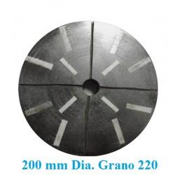 MUELA  GRANITO DIAMANTADA D. 200 GR. 220 DESBASTE