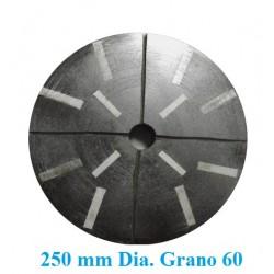 MUELA GRANITO DIAMANTADA D. 250 GR.   60 DESBASTE