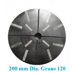 MUELA DIAMANTADA GRANITO D. 200 GR. 120 DESBASTE
