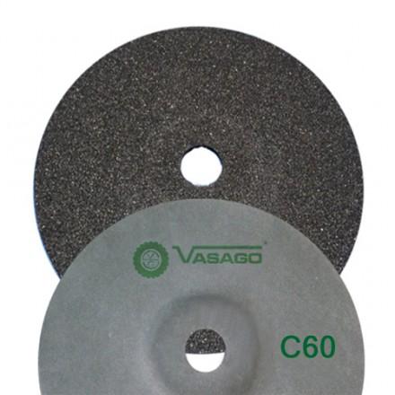 DISCO FIBRA VASAGO  180X22  GR. 60